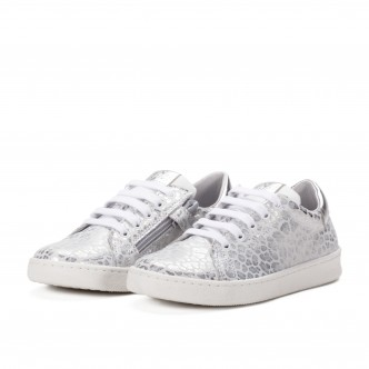 CLIC! SNEAKERS SILVER...